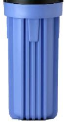 "# 10 Standard Blue Sump for 10"" Water Filters"
