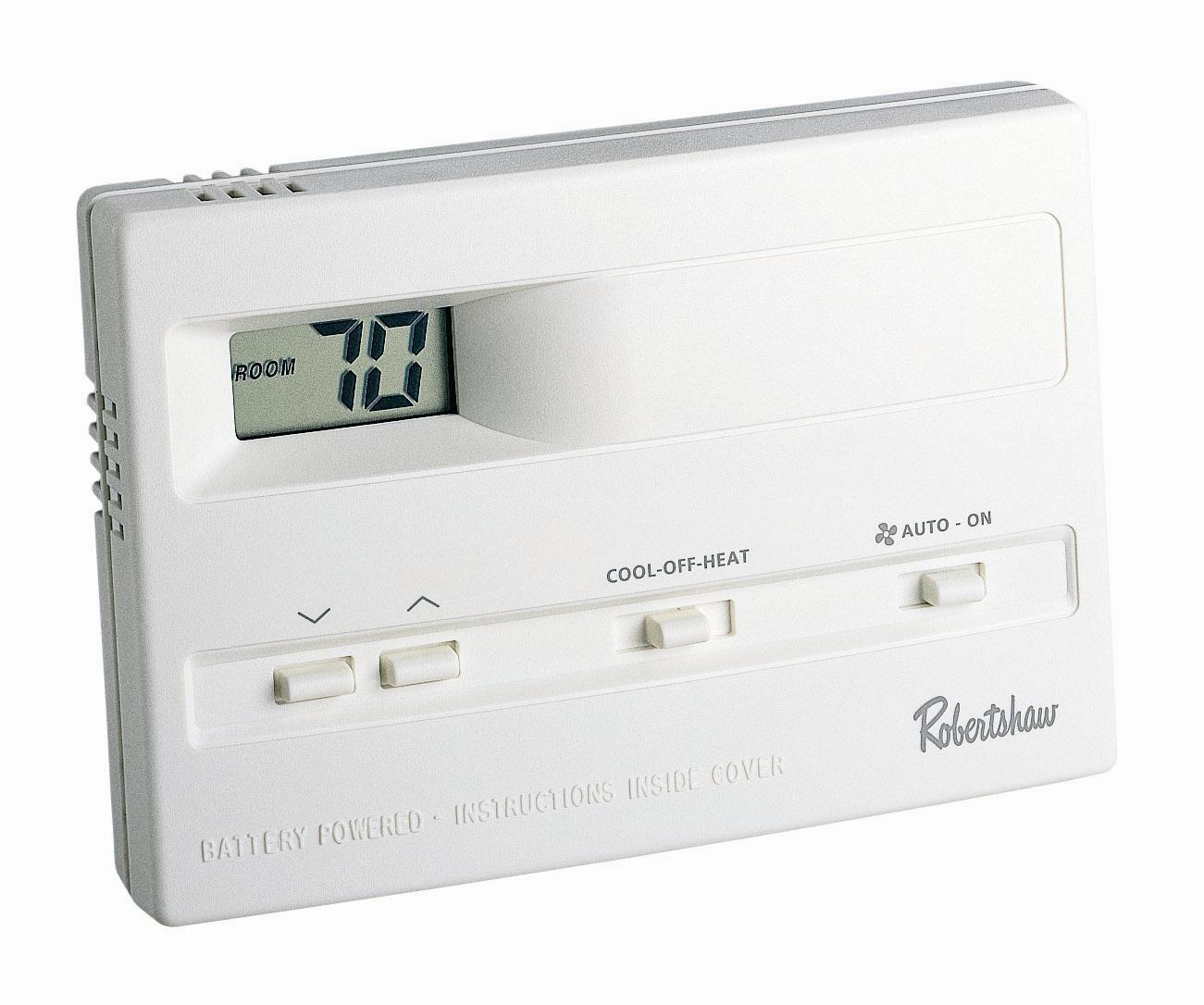 Digital Thermostat 9500, 1 Heat / 1 Cool, Non Programmable
