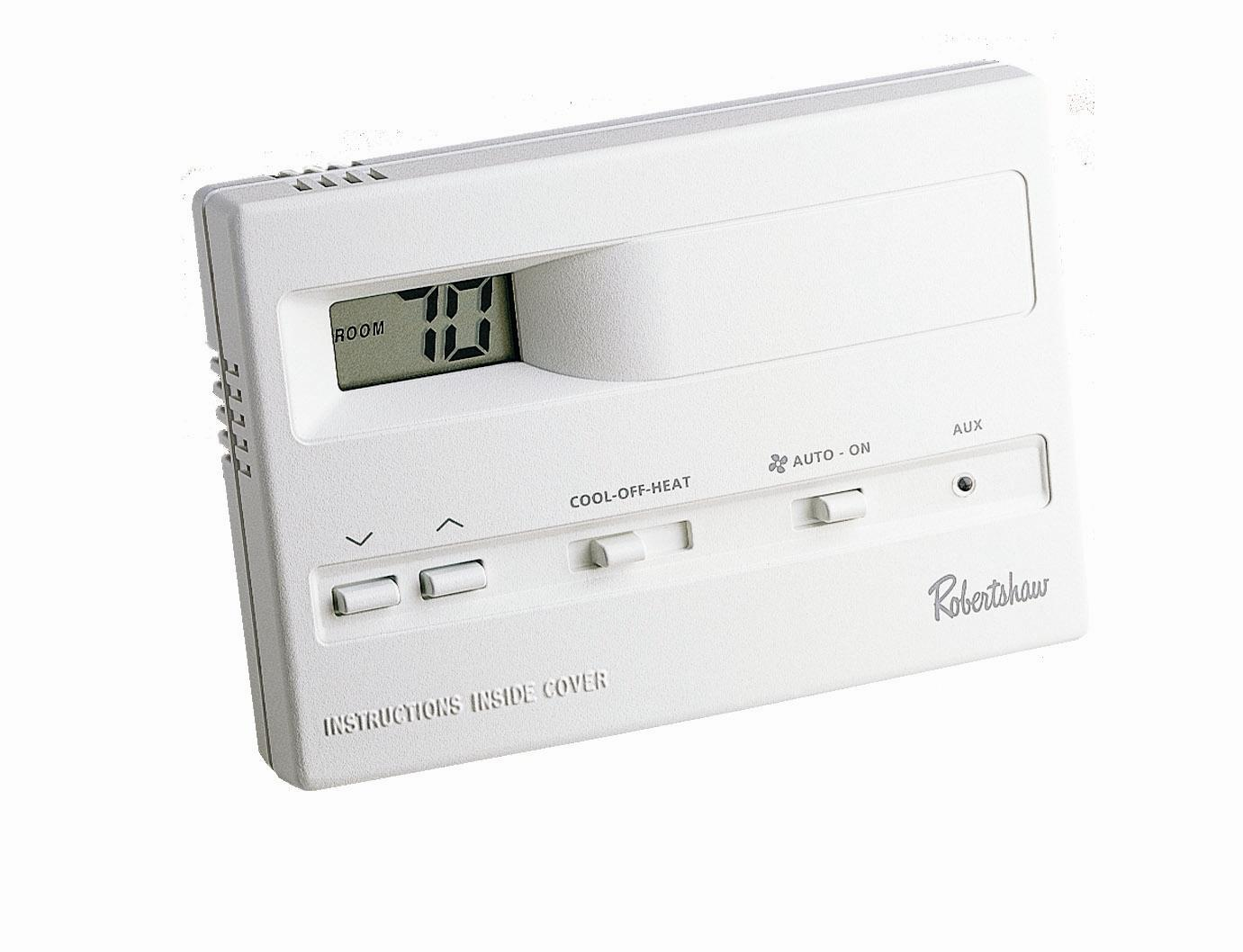 Digital Thermostat 9515, 2 Heat / 2 Cool, Non Programmable