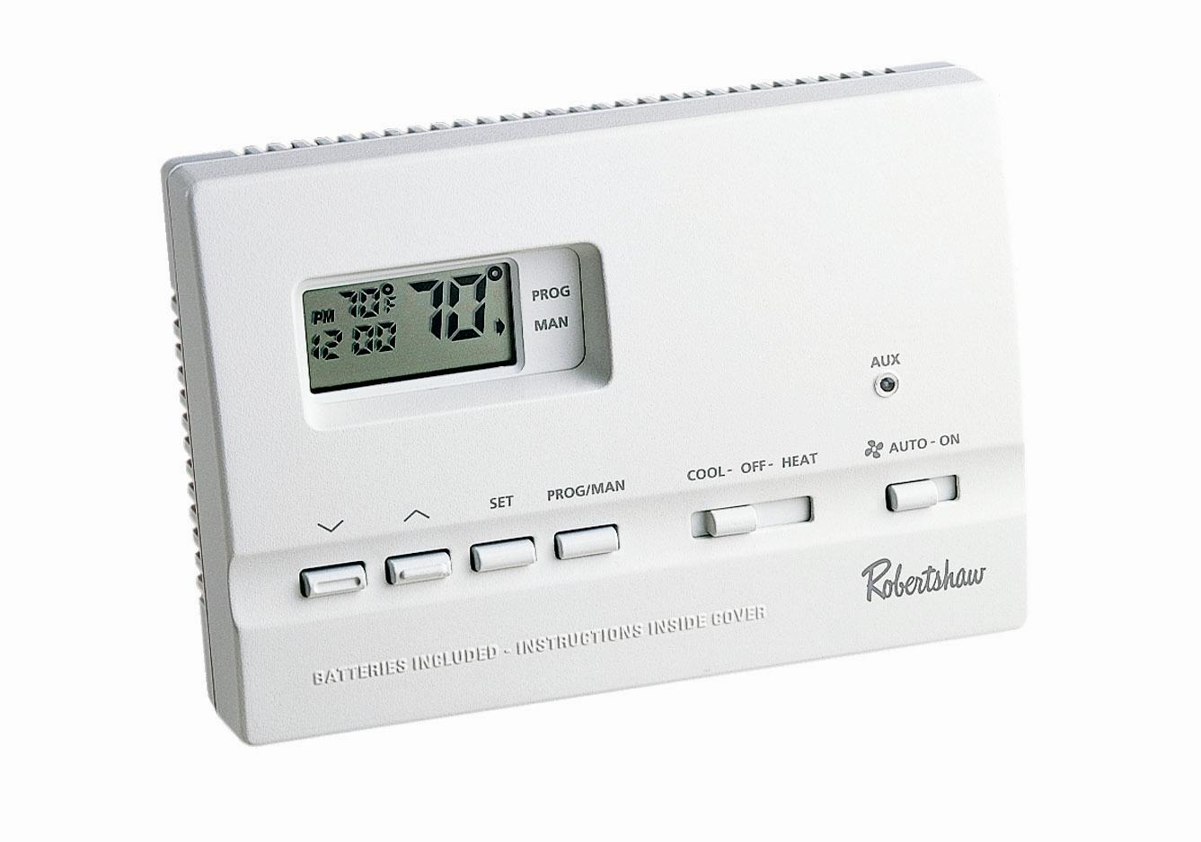 Digital Thermostat 9615, 2 Heat / 2 Cool, 7 Day Programmable