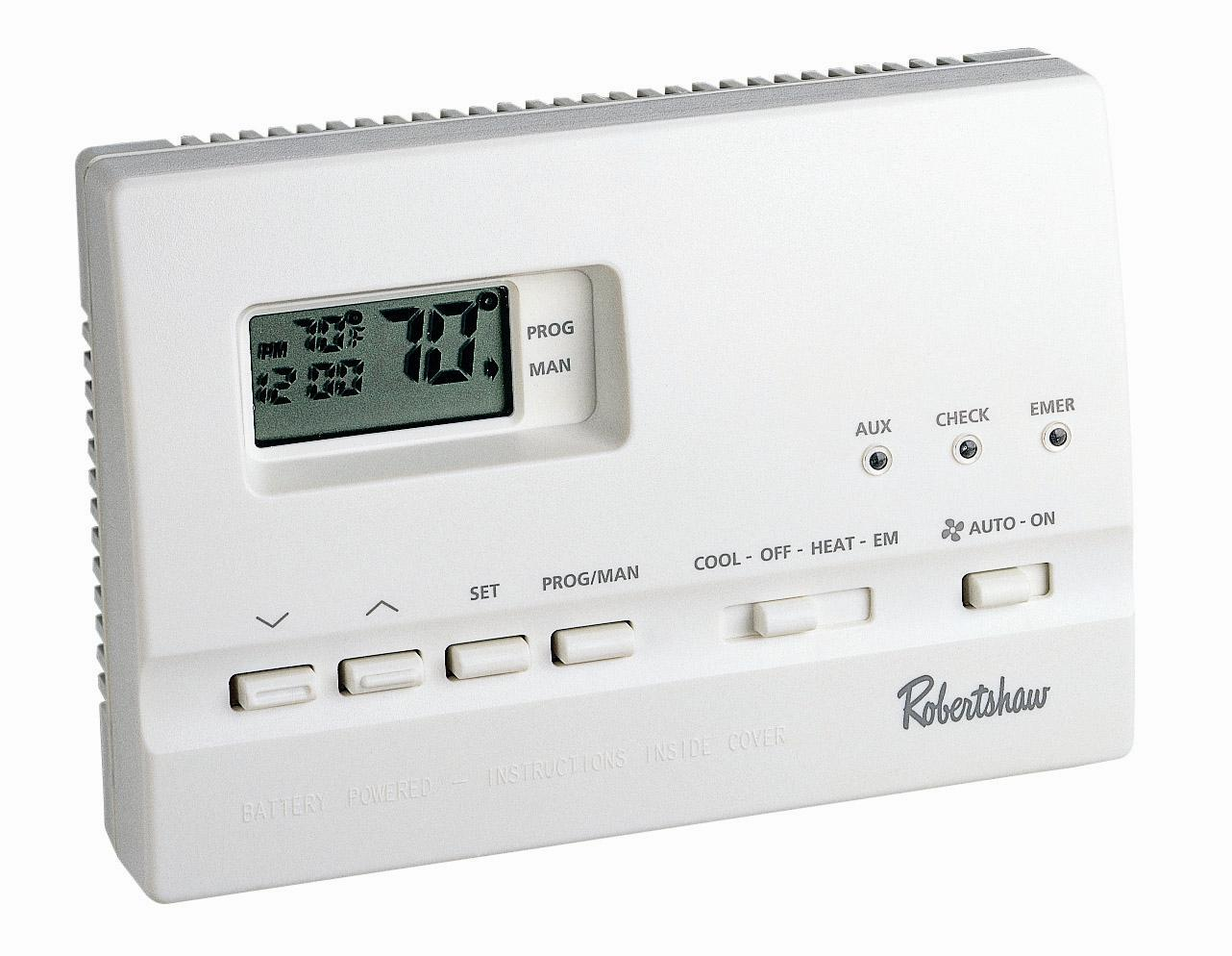 Digital Thermostat 9620, 2 Heat / 2 Cool, 7 Day Programmable