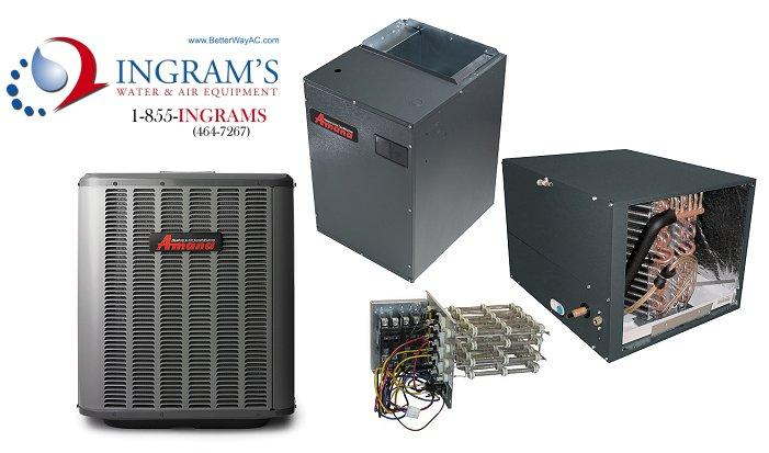 Amana 2.0 ton 16 Seer Split System AC Only Package. Upflow/Downflow Applications