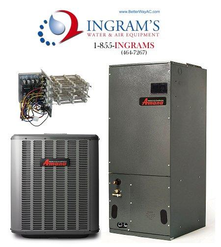 Amana 1.5 ton 13 Seer Split Heat Pump Package