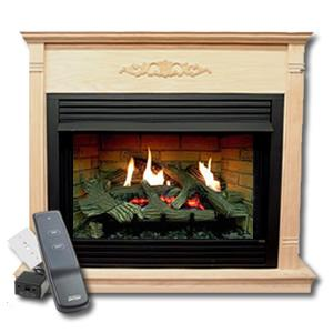 "Complete Monessen Emberblaze 36"" Fireplace Package"