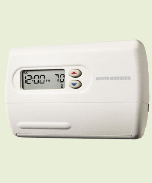Thermostat 1F82-261, 2 Heat / 1 Cool, Programmable